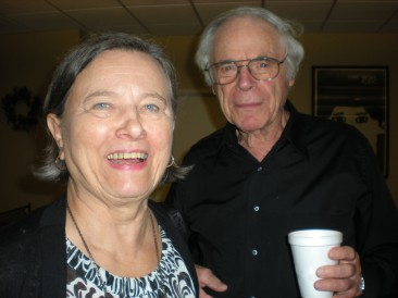 Poet/Author Svenda Heller and event guest