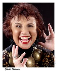 Golda Solomon aka Medicine Woman of Jazz, teacher and spoken word performer