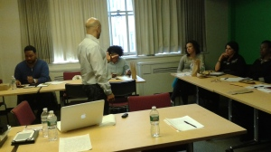 Orlando Ferrand, Once Upon A Time: Extreme Storytelling with workshop attendees