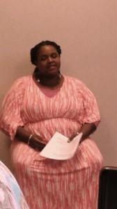 Storyteller Radhiyah Ayobami.