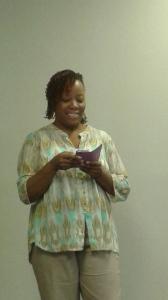Poet/Writer Janel Oyaande