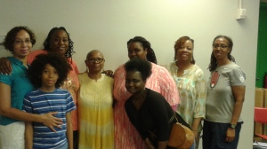 JP Howard, Nicholas Howard Jennings, Nichelle Johnson, Lorraine Currelley, Radhiyah Ayobami, Janel Oyaande and Norma Jennings